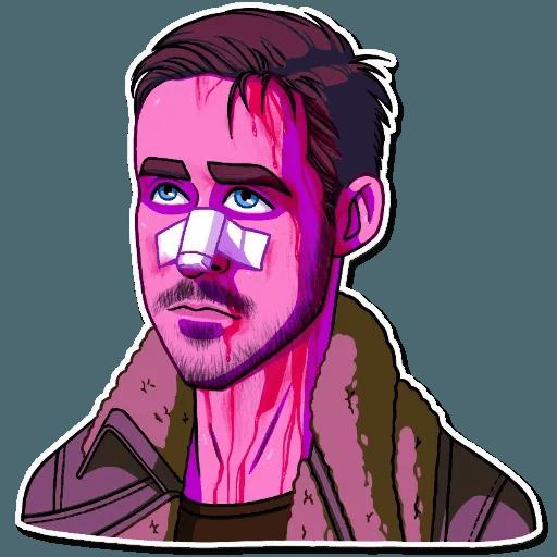 Ryan Gosling - Sticker 16