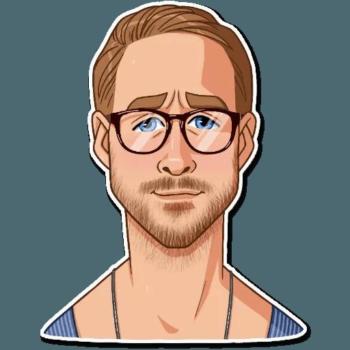 Ryan Gosling - Sticker 18
