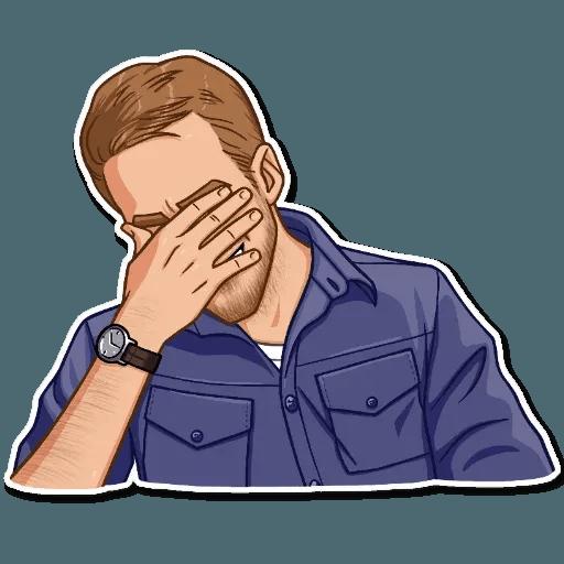 Ryan Gosling - Sticker 14