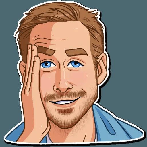 Ryan Gosling - Sticker 8