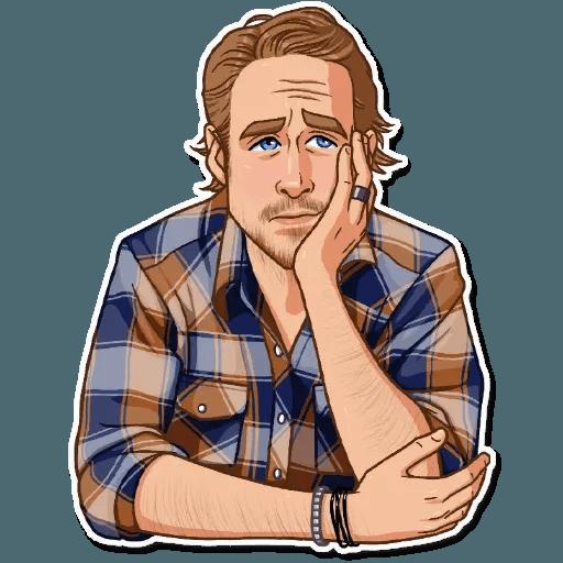 Ryan Gosling - Sticker 20