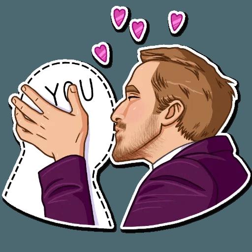 Ryan Gosling - Sticker 4