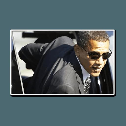 Obama - Sticker 2