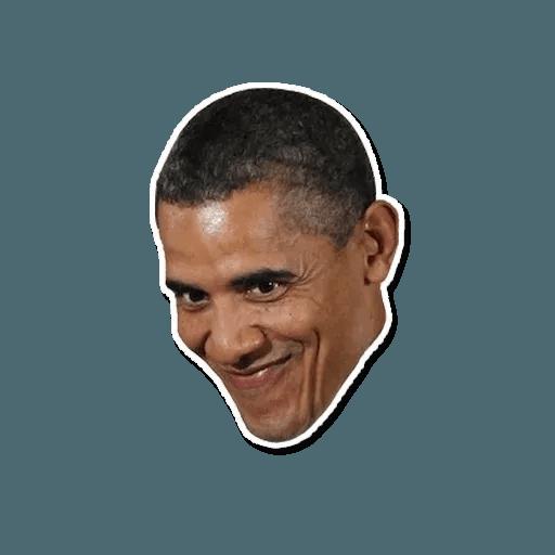 Obama - Sticker 9