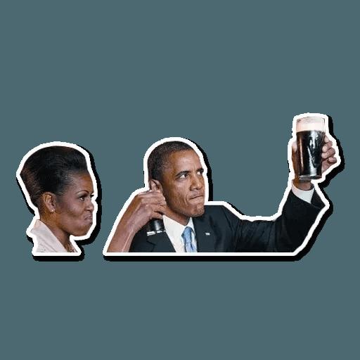 Obama - Sticker 21
