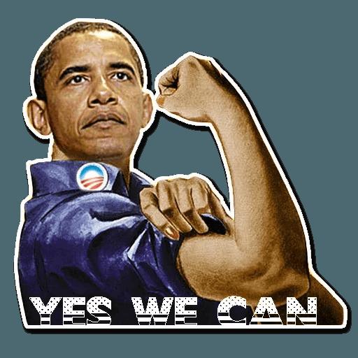Obama - Sticker 12