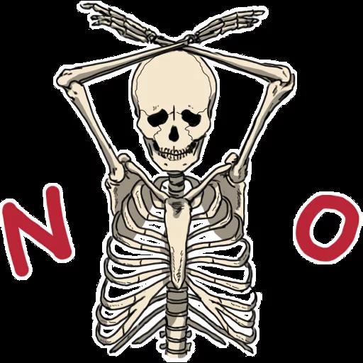 骷髏骨先生 - Sticker 4