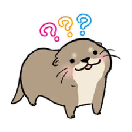 Otter's otter animated - Sticker 19
