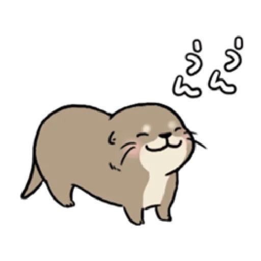 Otter's otter animated - Sticker 5