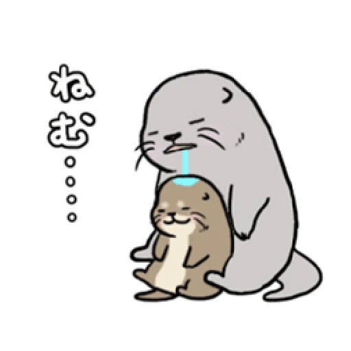 Otter's otter animated - Sticker 22