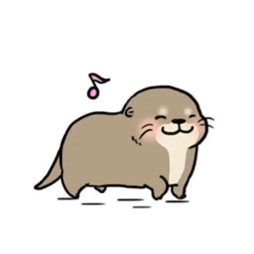 Otter's otter animated - Sticker 15
