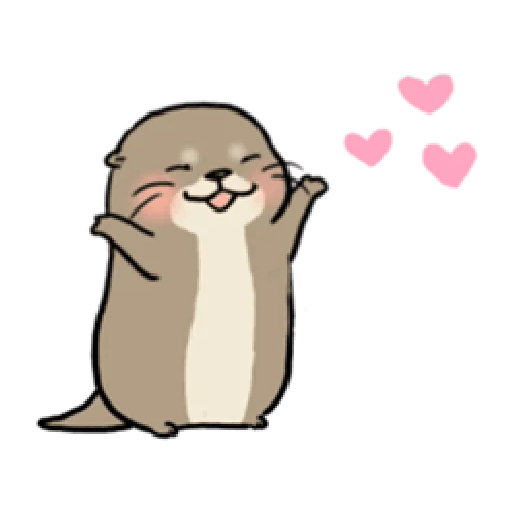 Otter's otter animated - Sticker 16