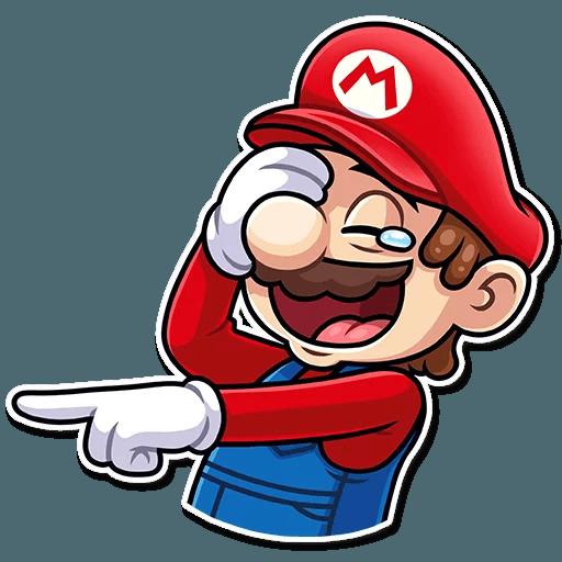 It's-a Me, Mario - Sticker 1