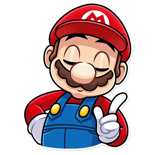It's-a Me, Mario - Sticker 10