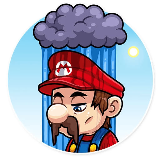 It's-a Me, Mario - Sticker 17