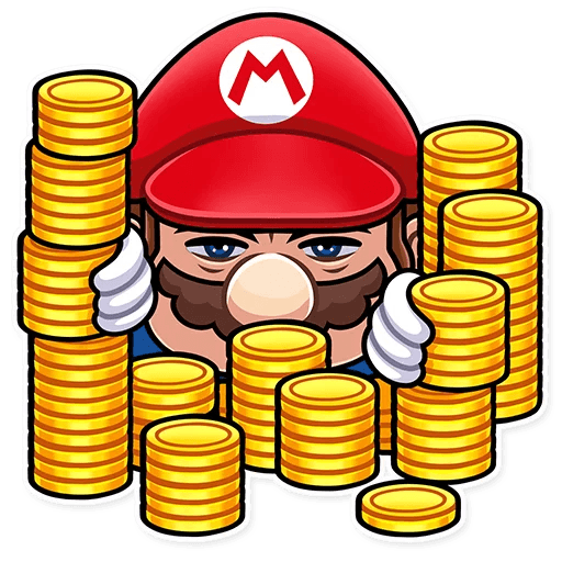It's-a Me, Mario - Sticker 20