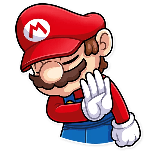 It's-a Me, Mario - Sticker 9