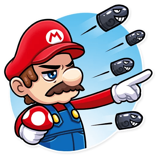 It's-a Me, Mario - Sticker 26