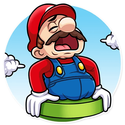 It's-a Me, Mario - Sticker 12