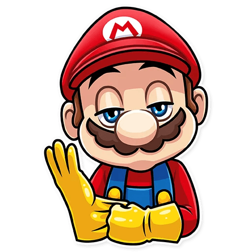 It's-a Me, Mario - Sticker 8