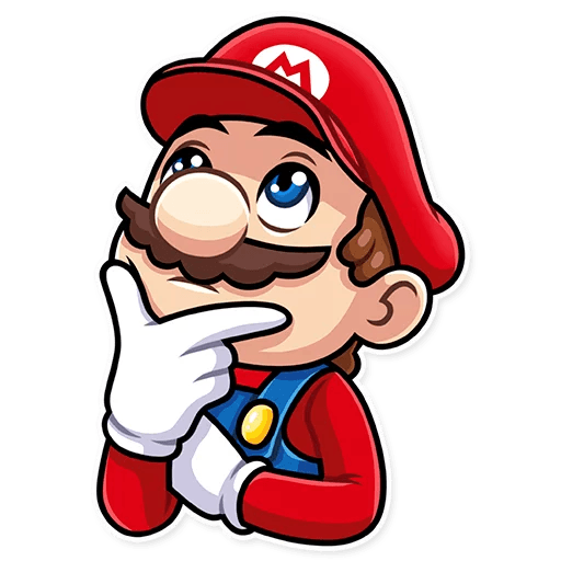 It's-a Me, Mario - Sticker 23