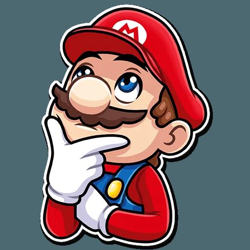 It's-a Me, Mario - Sticker 23