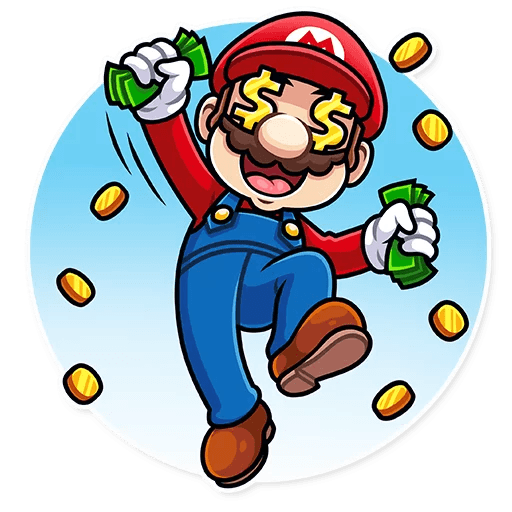 It's-a Me, Mario - Sticker 21