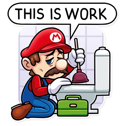 It's-a Me, Mario - Sticker 14