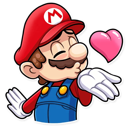 It's-a Me, Mario - Sticker 2