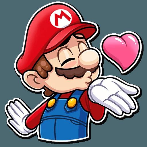 It's-a Me, Mario - Sticker 2
