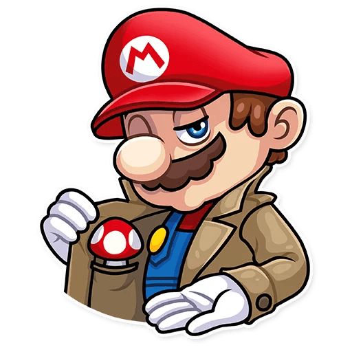 It's-a Me, Mario - Sticker 11