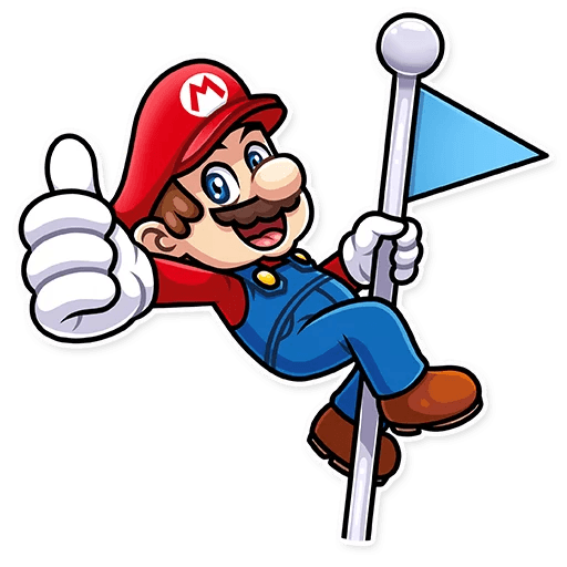 It's-a Me, Mario - Sticker 3