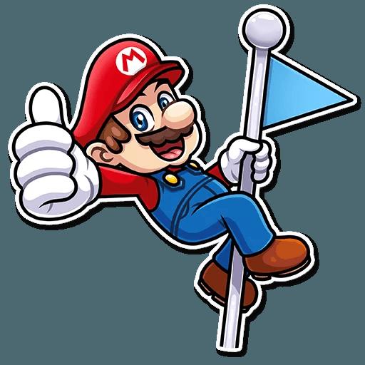 It's-a Me, Mario - Sticker 3
