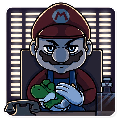 It's-a Me, Mario - Sticker 16