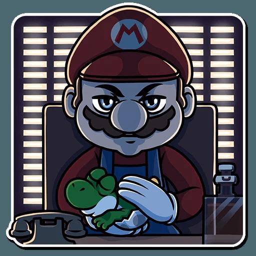 It's-a Me, Mario - Sticker 16