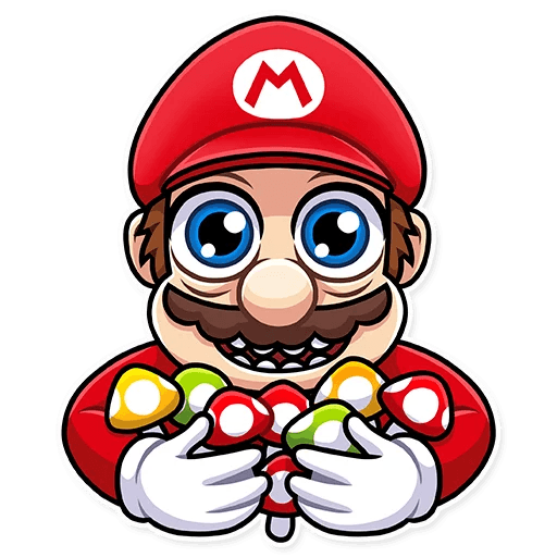 It's-a Me, Mario - Sticker 22