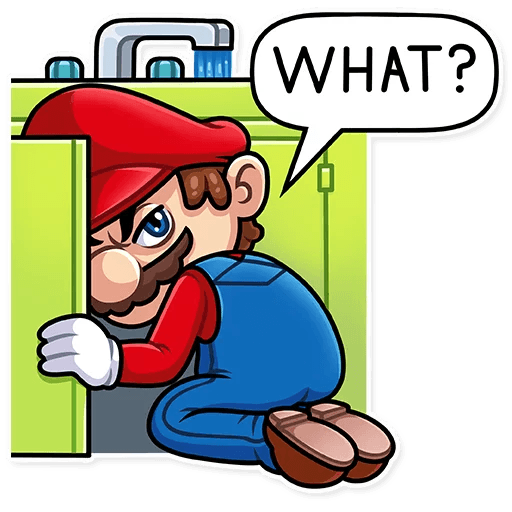 It's-a Me, Mario - Sticker 15