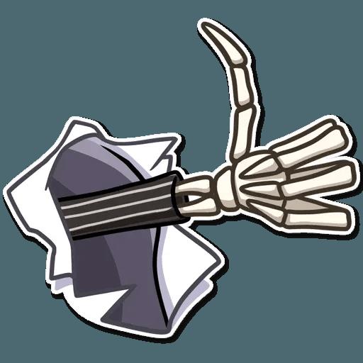 Jack skeleton - Sticker 12