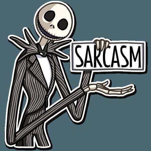 Jack skeleton - Sticker 7
