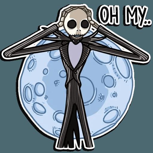 Jack skeleton - Sticker 15