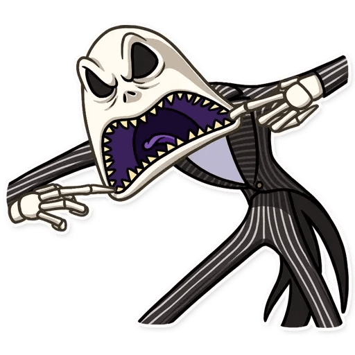 Jack skeleton - Sticker 14