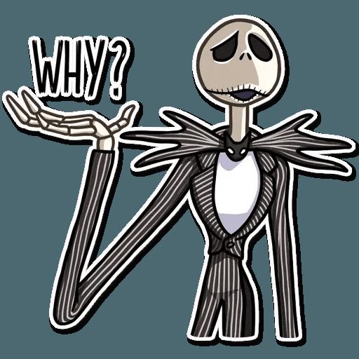 Jack skeleton - Sticker 25