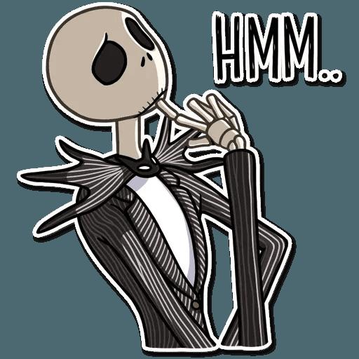 Jack skeleton - Sticker 10
