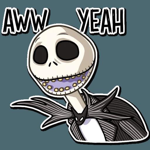 Jack skeleton - Sticker 16