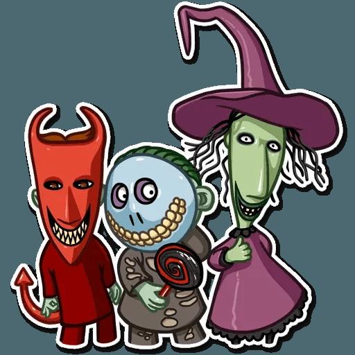 Jack skeleton - Sticker 27