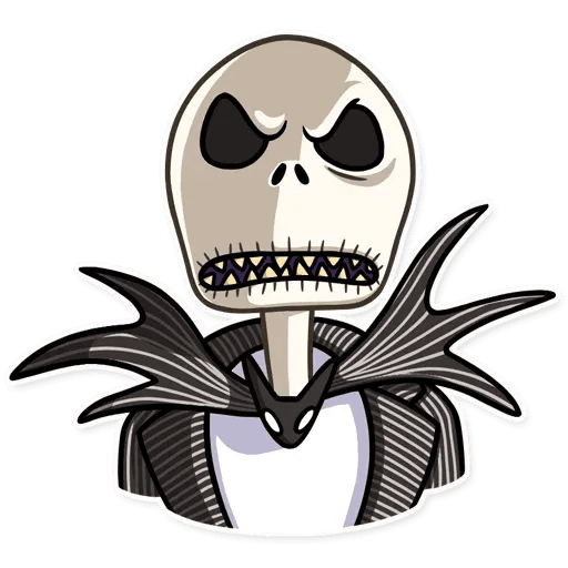 Jack skeleton - Sticker 19