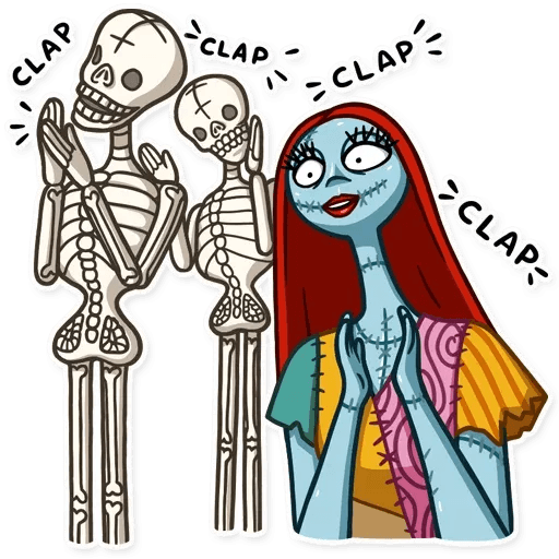 Jack skeleton - Sticker 24