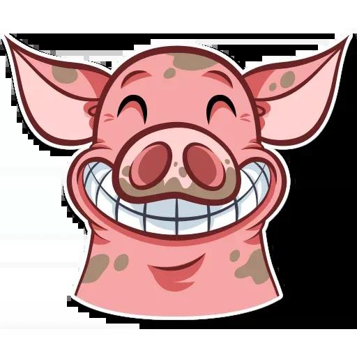 Pig - Sticker 17