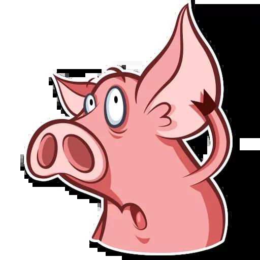 Pig - Sticker 11