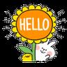 Spoiled rabbit 夏日版 3 - Tray Sticker